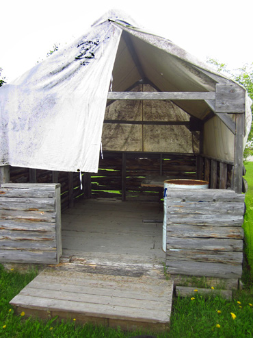 Sue 39 s at journal for Semi permanent tents